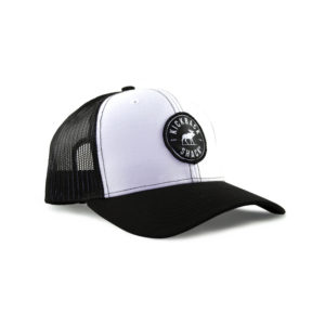 Black White Logo Hat