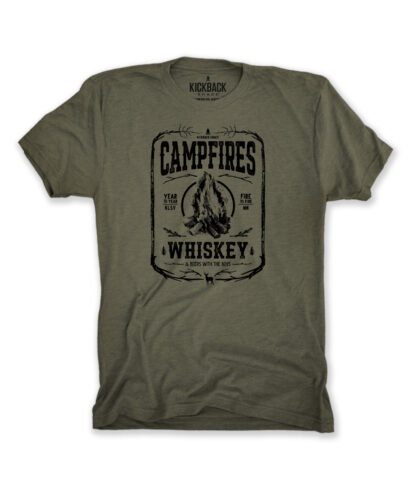 Campfires & Whiskey Tee